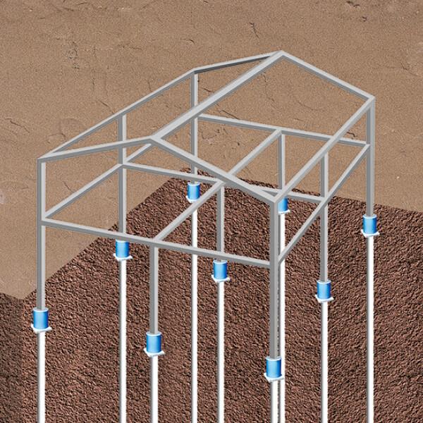 システム建築 いちいち基礎工法